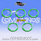 Set of 5 Tentacles Skill Rings for 25 mm Bases - Comixininos