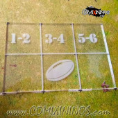 Fantasy Football Throw In Template for 34mm Pitches - Transparent