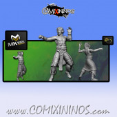 Wood Elves - Cabiri Wood Elf Thrower nº 2 - MK1881
