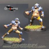 Humans - Fat Bastards Thrower nº 2 - Meiko Miniatures