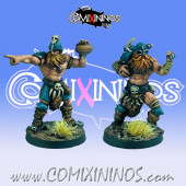 Norses - Set of 2 Throwers Legends of the North - Goblin Guild