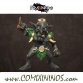 Goblins - Toa Goblin Player - Punga Miniatures