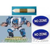 No Zone Tokens (Set of 2) - English