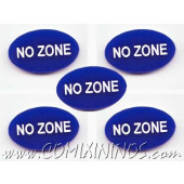 No Zone Tokens (Set of 5) - English