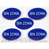 No Zone Tokens (Set of 5) - Spanish
