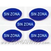 No Zone Tokens (Set of 5) - Spanish