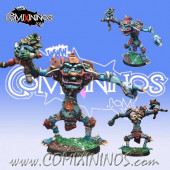 Big Guy - Troll nº 2 with Removable Goblin - Willy Miniatures