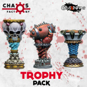 Set of 3 Trophies - Chaos Factory