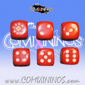 Turnover Light Red Skill Dice - Euskal