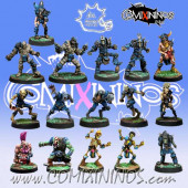 Undead - Complete Team of 16 Players - Meiko Miniatures
