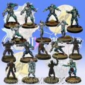 Undead / Necromantic - Super Combo Team of 16 Players - SP Miniaturas