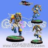 Undead - Simbad Star Player Skeleton with Dagger - Willy Miniatures