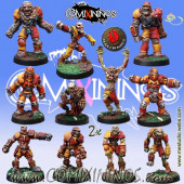Undead - Undead Team of 12 Players - Mano di Porco
