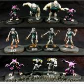 Undead - Hellraisers Undead Team of 16 Players - Labmasu
