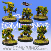 Underworld / Goblins - Set A of 6 Mutated Goblins - Goblin Guild