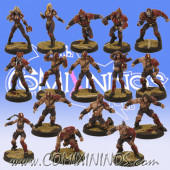 Vampires - Complete Vampire Team of 16 Players - Willy Miniatures