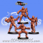 Vampires - Set of 4 Thralls - RN Estudio