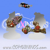 Evil Dwarves - Set of 2 Volmarian Special Arms - Rolljordan