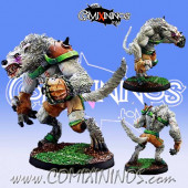 Necromantic - William Chany Werewolf Star Player  - Willy Miniatures