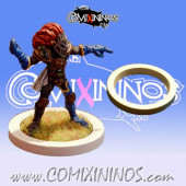 Skill Marker - White Rubber Deluxe Ring for 25 mm Bases - Comixininos