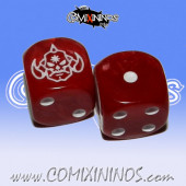 Set of 2d6 Evil Pact Dice - Willy