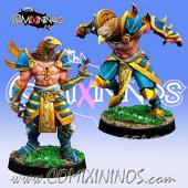Egyptian - Set of 2 Horus Blitz-Ras - Willy Miniatures