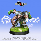 Ratmen - Two Heads Star Player  - Willy Miniatures