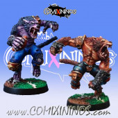 Necromantic - Set of 2 Werewolves - Willy Miniatures