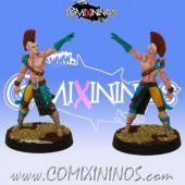 Wood Elves - Fredrick Star Player - SP Miniaturas