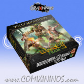 Wood Elves - Deluxe Boxed Team of 15 Players with Treeman - Willy Miniatures