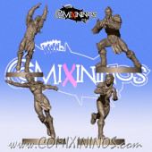 Wood Elves / Elves - Set of 4 Catchers - Willy Miniatures