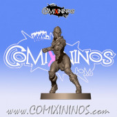 Wood Elves - Wood Elf Lineman 1 - Willy Miniatures