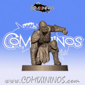 Wood Elves - Wood Elf Lineman 6 - Willy Miniatures