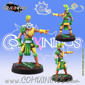 Wood Elves / Elves - Thrower nº 2 or Lineman nº 6 - Meiko Miniatures