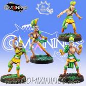 Wood Elves / Elves - Expansion Pack 4 Players - Meiko Miniatures