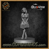 Elves - Wood Elf Cheerleader - Willy Miniatures