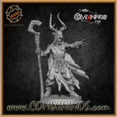 Wood Elves - Wood Elf Wizard - Willy Miniatures