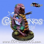 Rotten - Worm Rotten Beast with Baby Worm - Meiko Miniatures