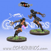 Amazons - Xenia Star Player Amazon Smashers - Fireforge Games
