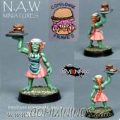 Goblins / Orcs - Zelda Bloodweiser Goblin Girl - NAW Miniatures