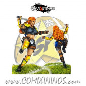 Amazons / Humans - Zelda the Slayer Star Player - SP Miniaturas
