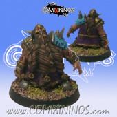 Undead / Necromantic - Dwarf Zombie - SP Miniaturas
