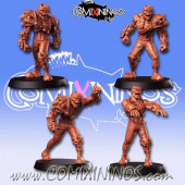Undead / Necromantic - Set of 4 Zombies - RN Estudio