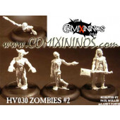 Undead / Necromantic - Norse Zombie + Set of 3 Zombies - Heresy
